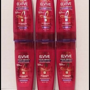 L'Oreal Hair Care Color Vibrancy Intensive Lot 6